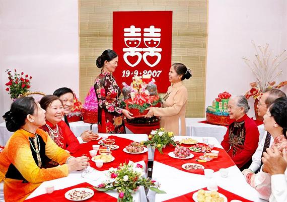 Sính lễ trong cưới hỏi Việt Nam