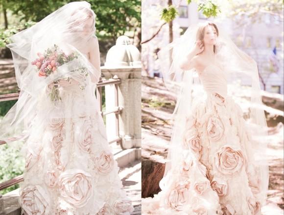 Những băn khoăn khi lựa chọn việc thuê và may váy cưới