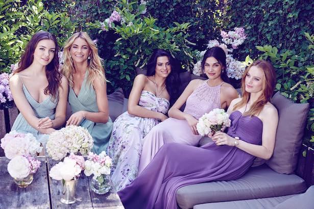 Váy phù dâu tháng 2/2017 cho các nàng lựa chọn