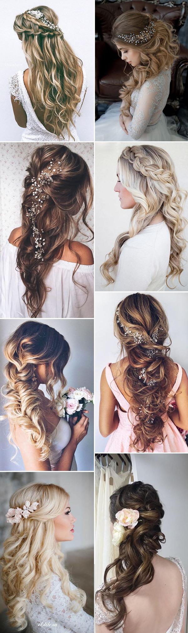 Những mẫu tóc cô dâu – Tóc bới dài