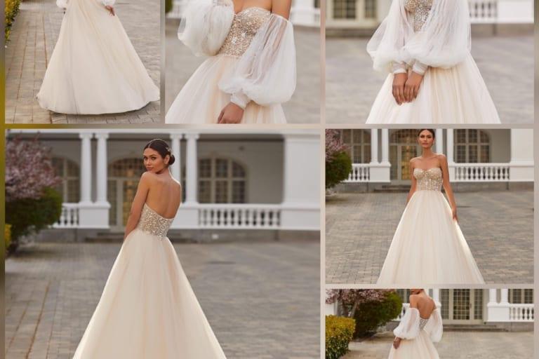Mẫu đo may áo cưới cúp ngực cực kỳ quyến rũ – Mẫu áo cưới 2021
